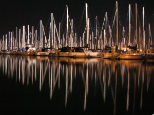 boatsSBMarina_night